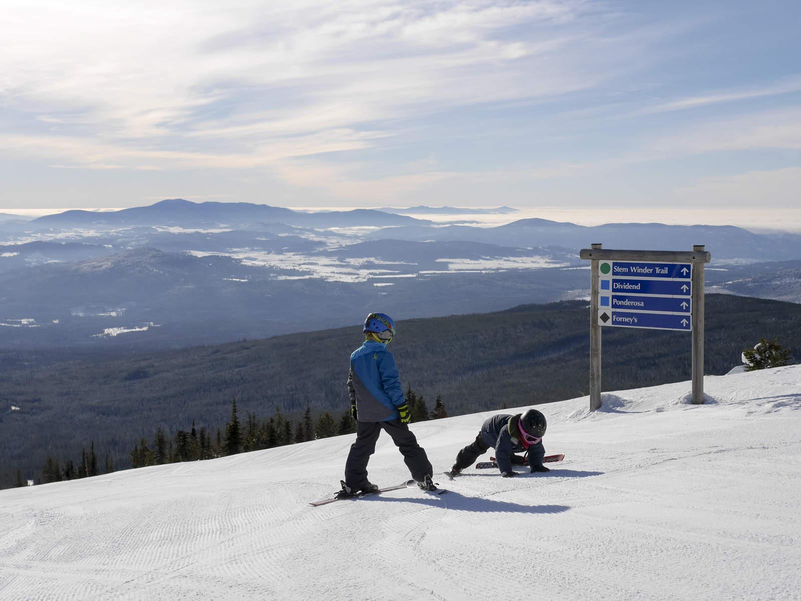 family ski days at baldy mountain resort – backwoods mama