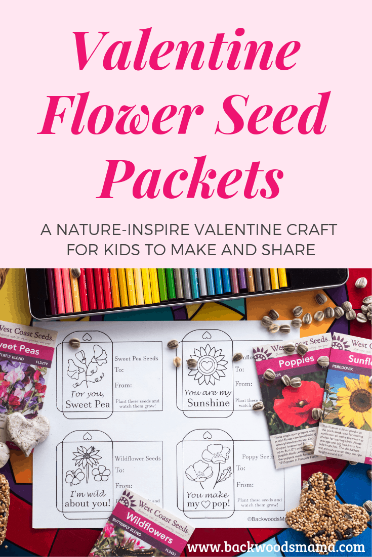 Get The Valentine Flower Seed Packet Printable HERE