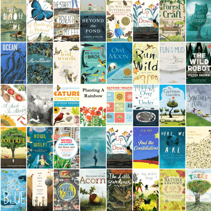 100+ Must-Read Nature Books for Kids of All Ages